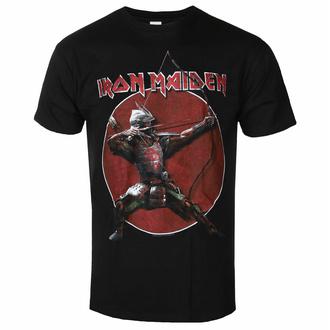 Herren T-Shirt Iron Maiden - Eddie Arche Red Circle BL - ROCK OFF, ROCK OFF, Iron Maiden