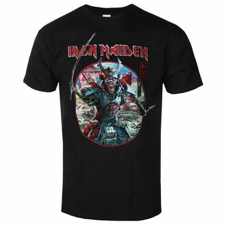 Herren T-Shirt Iron Maiden - Eddie Warrior Circle BL - ROCK OFF - IMTEE137MB