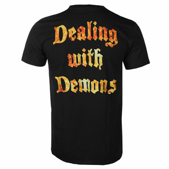Herren-T-Shirt Devildriver - Dealing with Dämonen - Schwarz, NNM, Devildriver