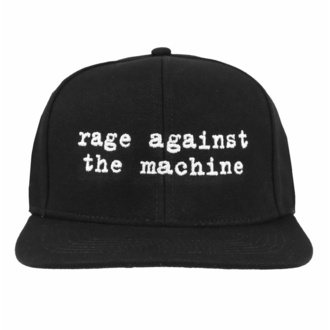 Kappe Rage against the machine - Logo Embroided Black, NNM, Rage against the machine