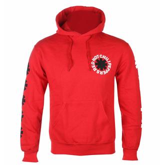 Herren-Sweatshirt Red Hot Chili Peppers - Classic B&W Asterik - Rot, NNM, Red Hot Chili Peppers