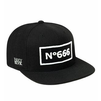 Kappe Cap HOLY BLVK - No666, HOLY BLVK