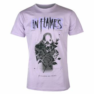 Herren T-Shirt In Flames - Rose Reaper - lila, NNM, In Flames