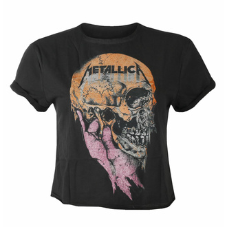Damen-T-Shirt (Oberteil) METALLICA - SAD BUT TRUE - CHARCOAL - AMPLIFIED, AMPLIFIED, Metallica