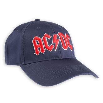 Kappe Cap AC / DC - Red Logo Navy - ROCK OFF, ROCK OFF, AC-DC