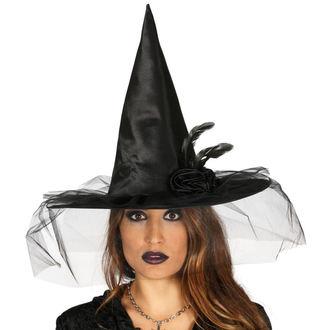 Halloween Hexenhut SCHWARZ HEXE BLUME, NNM