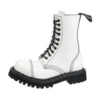 Unisex lederstiefel Boots - STEADY´S - STE/10_white