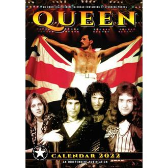 Kalender für 2022, NNM, Queen