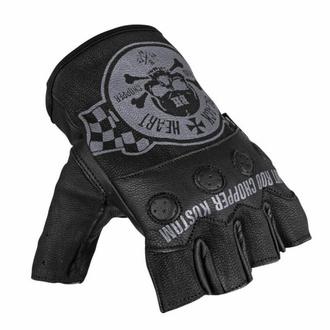Fingerlose Handschuhe BLACK HEART - W-TEC Wipplar, BLACK HEART