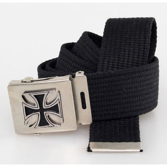 Gürtel Cross - Black, BLACK & METAL