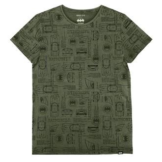 Herren T-Shirt Film Batman - OLIVE -, NNM, Batman
