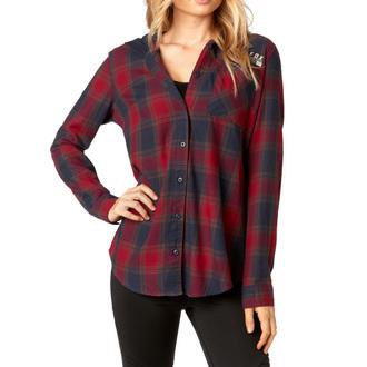 Damen Hemd FOX - Deny - Dunkel Rot, FOX