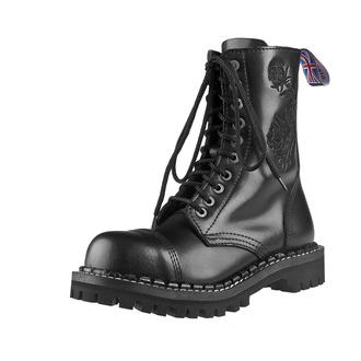 Stiefel Boots STEADY´S - 10 dírkové - Schwarz rose, STEADY´S