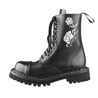 Stiefel Boots STEADY´S - 10 dírkové - Weiß rose, STEADY´S