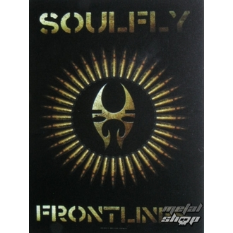 Fahne Soulfly - Frontlines, HEART ROCK, Soulfly