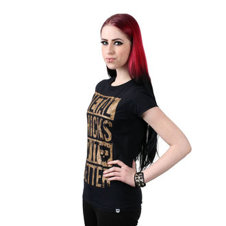 Damen T-Shirt Hardcore - Metal chicks - METAL CHICKS MACHEN ES BESSER, METAL CHICKS DO IT BETTER