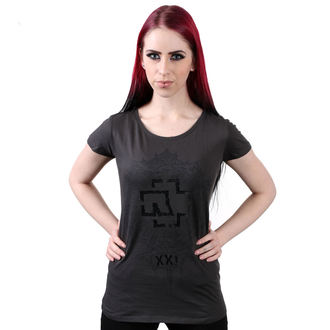 Damen T-Shirt Metal Rammstein - dark grey - RAMMSTEIN, RAMMSTEIN, Rammstein