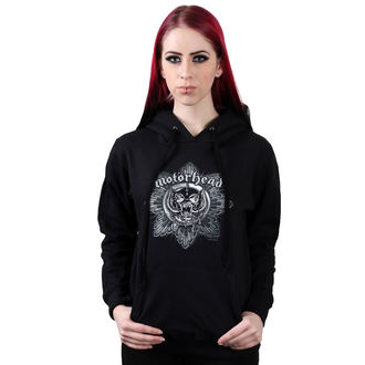 Damen Hoodie Motörhead - Pig Badge - ROCK OFF, ROCK OFF, Motörhead