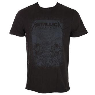 Herren T-Shirt Metal Metallica - THE BLACK ALBUM - AMPLIFIED, AMPLIFIED, Metallica