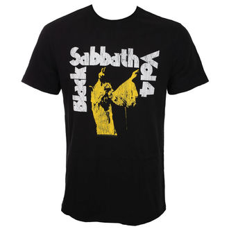 Herren T-Shirt Metal BLACK SABBATH - BLACK - AMPLIFIED, AMPLIFIED, Black Sabbath