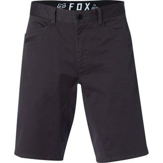 Herren Shorts FOX - Stretch Chino - Schwarz Jahrgang - 21163-587