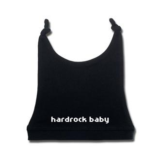 Babymütze hardrockbaby in weiß - black - Metal-Kids, Metal-Kids