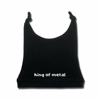 Kinderhut King of metal - Schwarz - Weiß, Metal-Kids