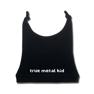 Babymütze true metal kid in white - black - Metal-Kids, Metal-Kids