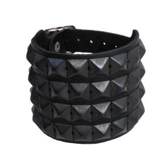 Armband Pyramids 4 - BWZ-124, BLACK & METAL
