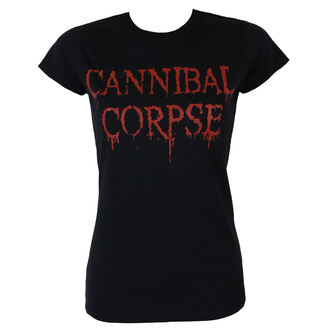 Damen T-Shirt Metal Cannibal Corpse - DRIPPING LOGO - PLASTIC HEAD, PLASTIC HEAD, Cannibal Corpse