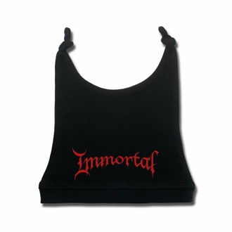 Kinderhut Immortal - (Logo) - Schwarz - Rot, Metal-Kids, Immortal