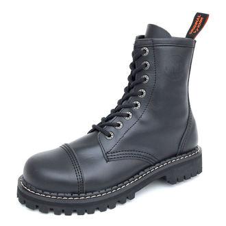 Lederstiefel/Boots KMM  - 8-Loch - Black - 080
