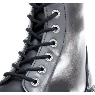 Lederstiefel/Boots KMM - 8-Loch - Black/White - 080