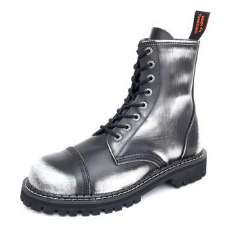 Lederstiefel/Boots KMM - 8-Loch - Black/White, KMM
