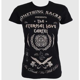 Damen T-Shirt SOMETHING SACRED - Deathless Love, SOMETHING SACRED