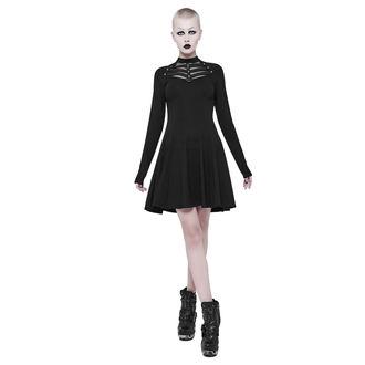 Damen Kleid PUNK RAVE - Shiva - schwarz gotisch, PUNK RAVE