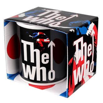 Keramiktasse  (Pott) The Who - Union Jack, ROCK OFF, Who