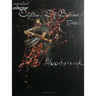 Fahne Children of Bodom - Blooddrunk, HEART ROCK, Children of Bodom