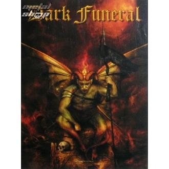Fahne Dark Funeral - Belial, HEART ROCK, Dark Funeral