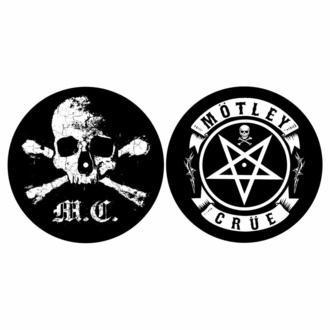 Drehbares Pad (2er Set) Mötley Crüe - SCHÄDEL & PENTAGRAM, RAZAMATAZ, Mötley Crüe