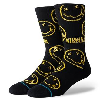 Socken NIRVANA - FACE BLACK- STANCE, STANCE, Nirvana