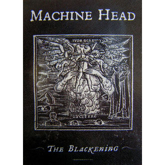 Fahne Machine Head 'The Blackening', HEART ROCK, Machine Head