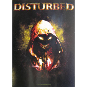 Fahne Disturbed  - Character, HEART ROCK, Disturbed