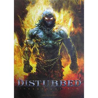 vlajka Disturbed 'Indestructible' HFL 1022, HEART ROCK, Disturbed