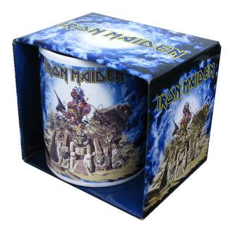 Keramiktasse  (Pott) Iron Maiden 'Somewhere Back In Time' ACWPOS 6138 - IMMUG08, ROCK OFF, Iron Maiden