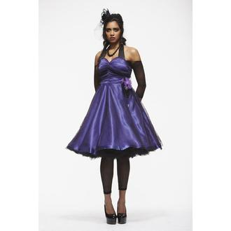 Damen Kleid  HELL BUNNY 'Harmony Purple', HELL BUNNY
