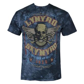 Herren T-Shirt Lynyrd Skynyrd 'Gimme Back My Bullets' LIQUID BLUE, LIQUID BLUE, Lynyrd Skynyrd