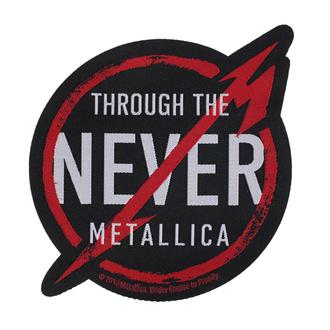 Patch Aufnäher Metallica - Through The Never - RAZAMATAZ, RAZAMATAZ, Metallica