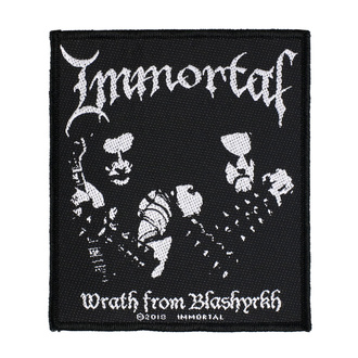 Patch Aufnäher Immortal - Wrath Of Blashyrkh - RAZAMATAZ, RAZAMATAZ, Immortal