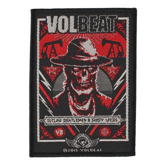 Patch Aufnäher Volbeat - Ghoul Frame - RAZAMATAZ, RAZAMATAZ, Volbeat